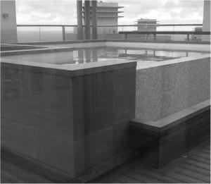 בניית בריכה פרטית גל הגג